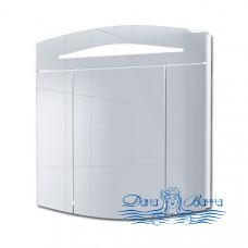 Зеркальный шкаф Alvaro Banos Alma (80 см) (белый лак)