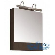 Зеркальный шкаф Aquanet Нота 58 венге (без светильника)