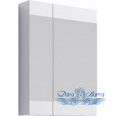 Зеркальный шкаф Aqwella Бриг 60 (белый)