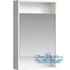 Зеркальный шкаф Aqwella Сити 50 дуб канадский