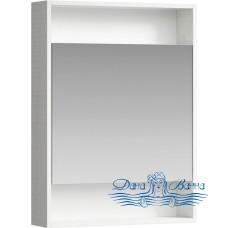 Зеркальный шкаф Aqwella Сити 60 дуб канадский
