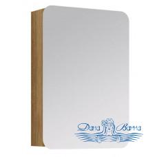 Зеркальный шкаф Aqwella Вега 50 (дуб сонома)