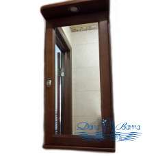 Зеркальный шкаф Два Водолея Clio 40