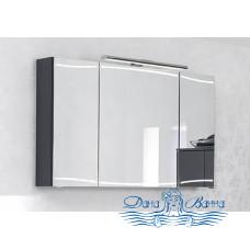 Зеркальный шкаф Pelipal Cassca (CS-SPS05) (120 см) (антрацит)