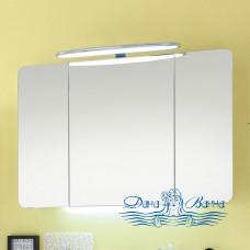 Зеркальный шкаф Pelipal Cassca (CS-SPS09) (140 см) (белый)