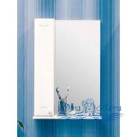 Зеркальный шкаф Sanflor Карина 45 L (белый)