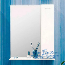 Зеркальный шкаф Sanflor Карина 50 R (белый)