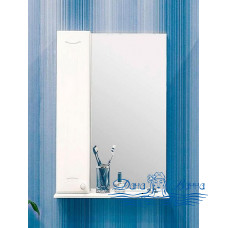 Зеркальный шкаф Sanflor Карина 55 L (белый)