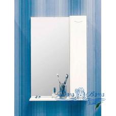 Зеркальный шкаф Sanflor Карина 55 R (белый)