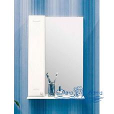 Зеркальный шкаф Sanflor Карина 60 L (белый)