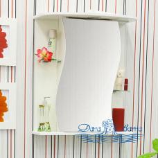 Зеркальный шкаф Sanflor Лина 55 L (белый)