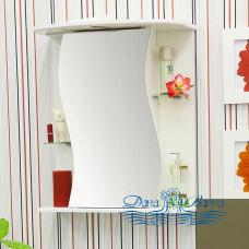 Зеркальный шкаф Sanflor Лина 55 L (бежевый)