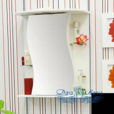 Зеркальный шкаф Sanflor Лина 55 L (черный)