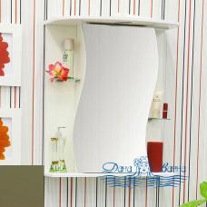 Зеркальный шкаф Sanflor Лина 55 R (бежевый)