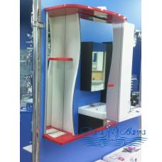 Зеркальный шкаф Sanflor Лина 55 R (красный)