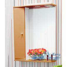 Зеркальный шкаф Sanflor Юна 55 L (апельсин)