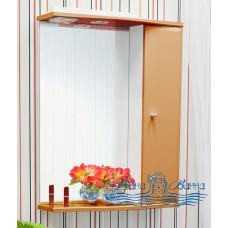Зеркальный шкаф Sanflor Юна 55 R (апельсин)