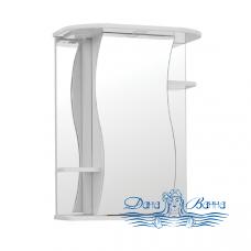 Зеркальный шкаф Style Line Лилия 55/С белый