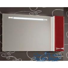 Зеркало Акватон Диор 120 (бело-бордовый)