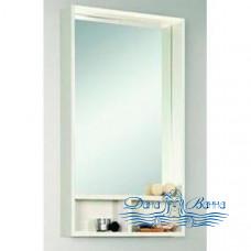 Зеркало Акватон Йорк 50 (Белый/Выбеленное дерево)