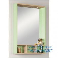 Зеркало Акватон Йорк 60 (салатовый/дуб сонома)