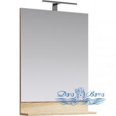 Зеркало Aqwella Фостер 60 (дуб сонома)