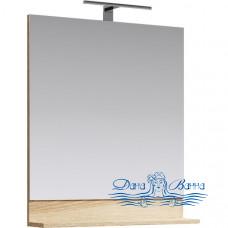 Зеркало Aqwella Фостер 70 (дуб сонома)