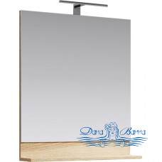 Зеркало Aqwella Фостер 80 (дуб сонома)