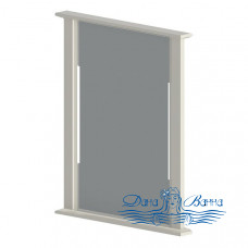 Зеркало Astra-Form Классик 70 белый