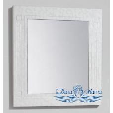Зеркало BelBagno Atria (ATRIA-SPC-800-BM) (80 см) белый с узором