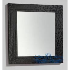 Зеркало BelBagno Atria (ATRIA-SPC-800-NM) (80 см) черный с узором