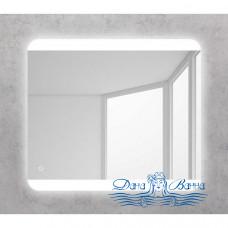Зеркало Belbagno (SPC-CEZ-800-700-LED-BTN) (с кнопкой) (80 см)