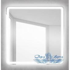Зеркало Belbagno (SPC-MAR-600-600-LED-BTN) (с кнопкой) (60 см)