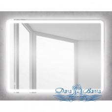 Зеркало Belbagno (SPC-MAR-600-800-LED-BTN) (с кнопкой) (80 см)