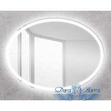 Зеркало Belbagno (SPC-VST-600-800-LED-BTN) (с кнопкой) (60 см)