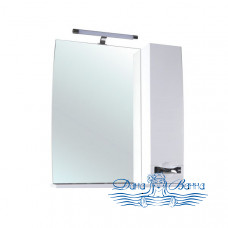 Зеркало Bellezza Абрис 80 R (белый)