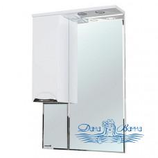 Зеркало Bellezza Альфа 55 L (белый)