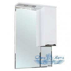 Зеркало Bellezza Альфа 55 R (белый)