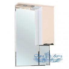 Зеркало Bellezza Альфа 55 R (бежевый)