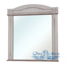 Зеркало Bellezza Аллегро Люкс 120 (бежевый, патина темный орех)