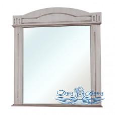 Зеркало Bellezza Аллегро Люкс 80 (бежевый, патина темный орех)