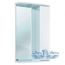 Зеркало Bellezza Астра 50 R (белый)