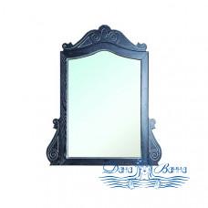 Зеркало Bellezza Аврора 115 (черный, патина серебро)