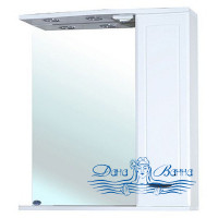 Зеркало Bellezza Классик 65 R (белый)