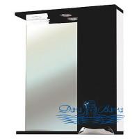 Зеркало Bellezza Симона 60 R (чёрный)