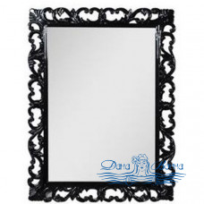 Зеркало Demax Престиж NEW 75 черный