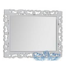 Зеркало Demax Сорбонна 100 белый глянец