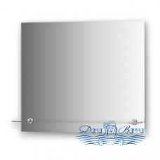 Зеркало Evoform Attractive (BY 0514) (с фацетом и полочкой) (60 см)