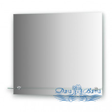Зеркало Evoform Attractive (BY 0515) (с фацетом и полочкой) (70 см)