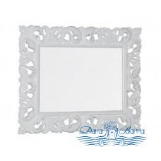 Зеркало Iside Calipso 100 орех (белый глянец)